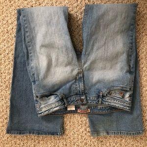 Paris Blues Flared Faded Jeans, Junior 13